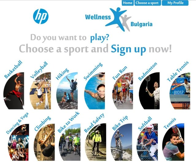 Hewlett-Packard| HP.COM| SPORTAL WEB DESIGN