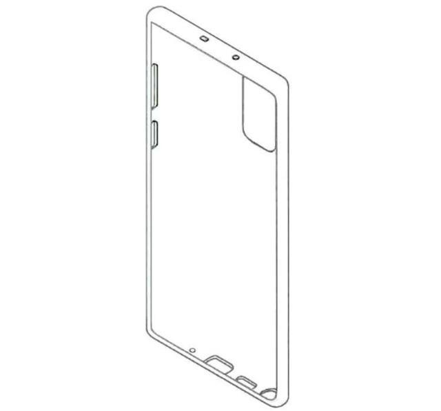 можливий вигляд Galaxy Note 20