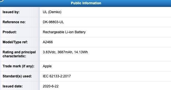 Батареї для майбутніх iPhone 12 отримують сертифікати
