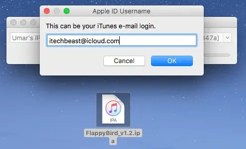 write appleid