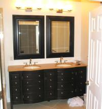 black-vanity-mirrors-for-bathroom-with-drawers-storage-and ...