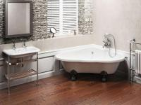 cute-corner-freestanding-clawfoot-bathtubs  Home Inspiring