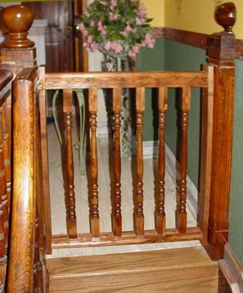 Delicieux Wooden Baby Gates Stairs