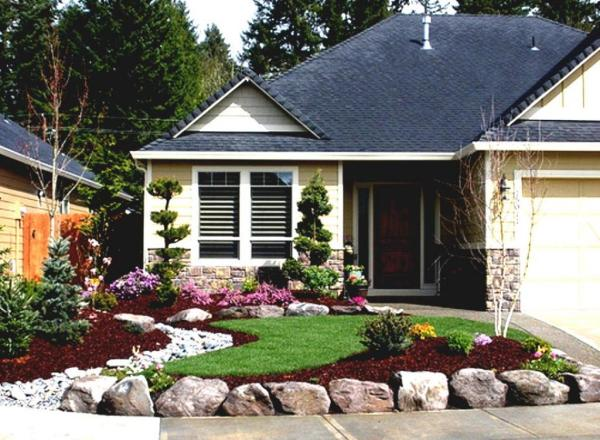 enchanting-landscaping-ideas-front-yard-of-ranch-style-house