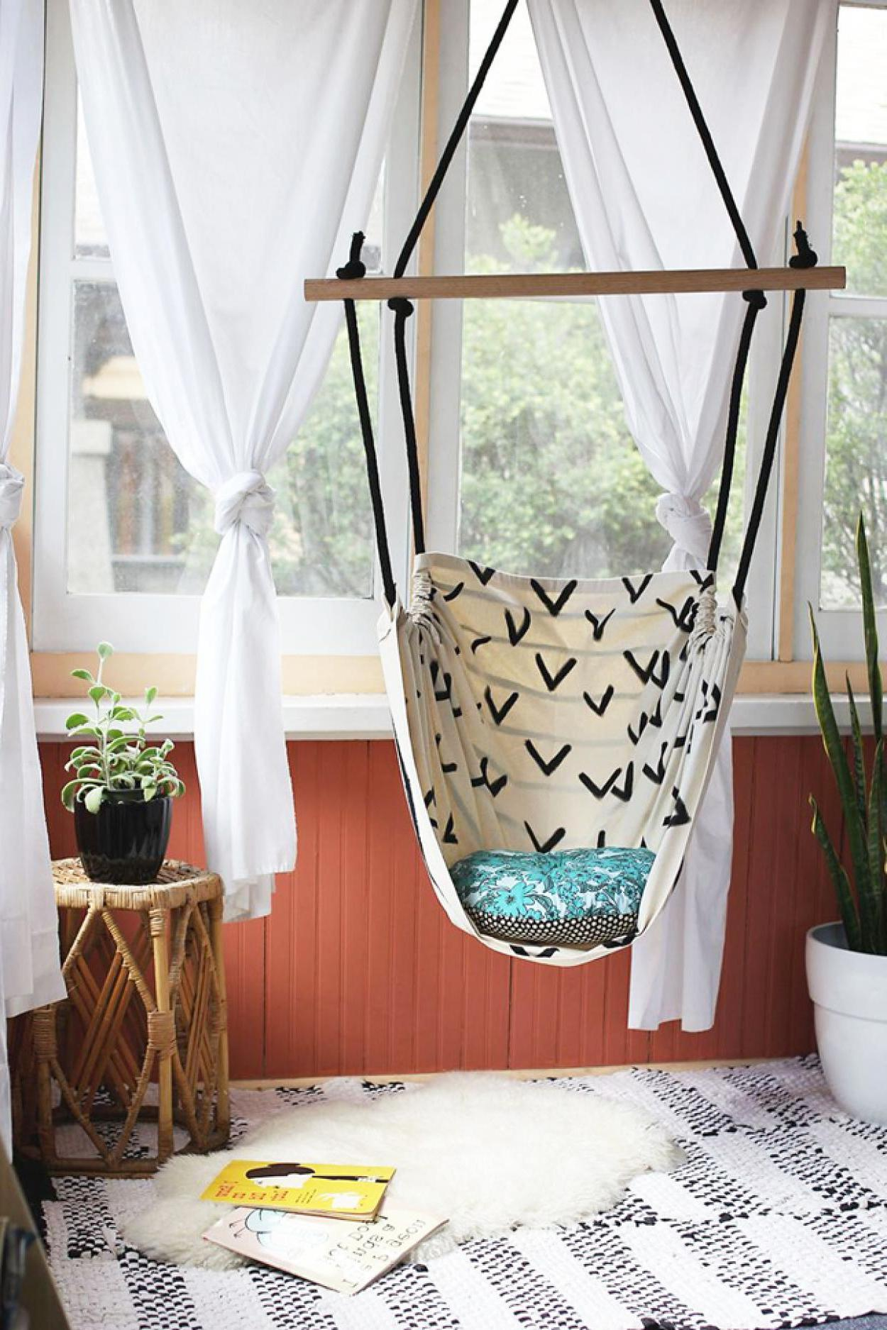 Ceiling Hanging Chair Cute Diy Ceiling Hanging Chair