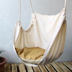 Hanging Ceiling Chair Oxo High Simple Diy From White Fabric