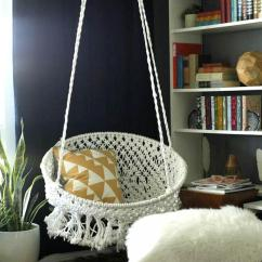 Hang A Round Chair Modern Papasan Make The Days Feel Comfortable And Relaxed With Adorable