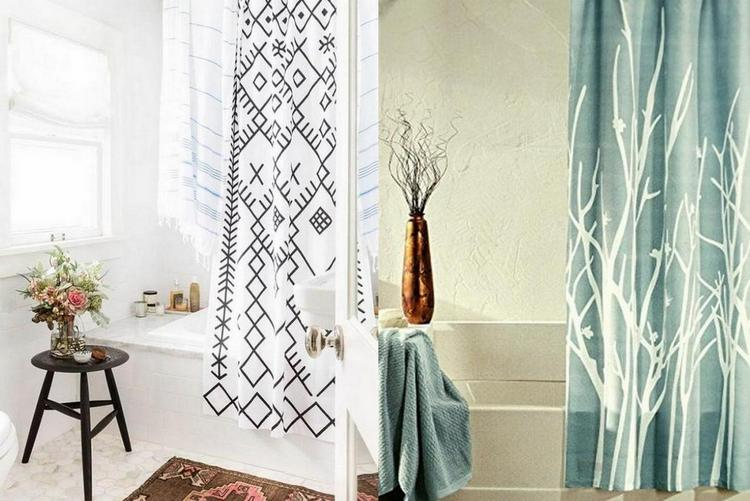 tips choose the right shower curtain