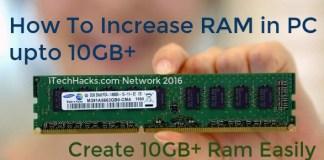 increase RAM in PC esily 2016