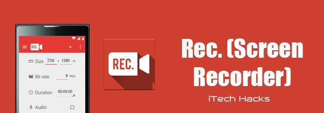 android screen recording apps no root