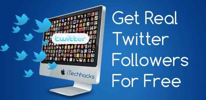Get free twitter followers instantly -itechhacks.com 2016