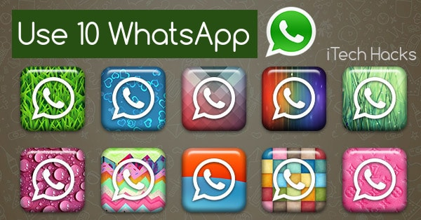 use 10 whatsapp in single android