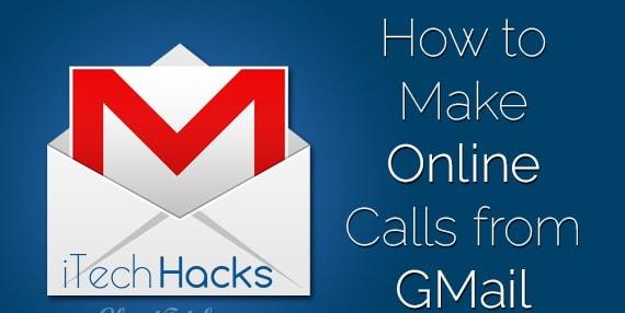 Make Free Calls Using Gmail