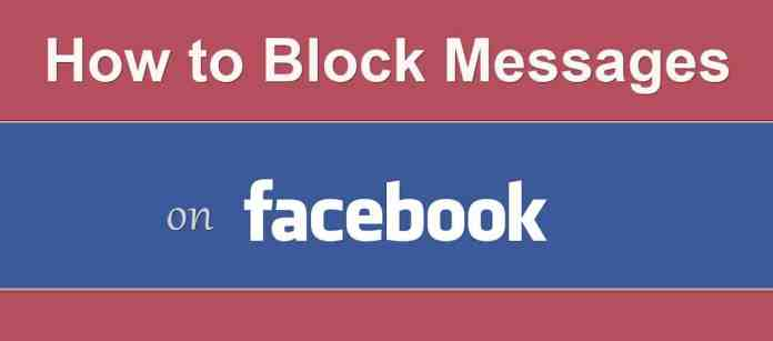 How to Block Messages Without Blocking Profile on Facebook?