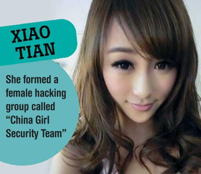 Xiao Tian -- Sexiest Female Hackers - itechhacks.com   - hot female hacker 2 - World's 10 Most Sexiest Female Hackers Ever That Makes You Hot