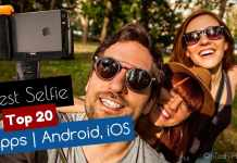 Top 20 Best Selfie Apps for Android & iOS 2017