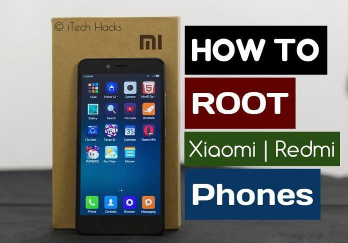 How To Root Xiomi Redmi Android Phones With or Without PC  - Root Xiaomi Phones itechhacks - 3 Methods To Root Xiaomi Redmi Android Phones (Mi) With or Without PC