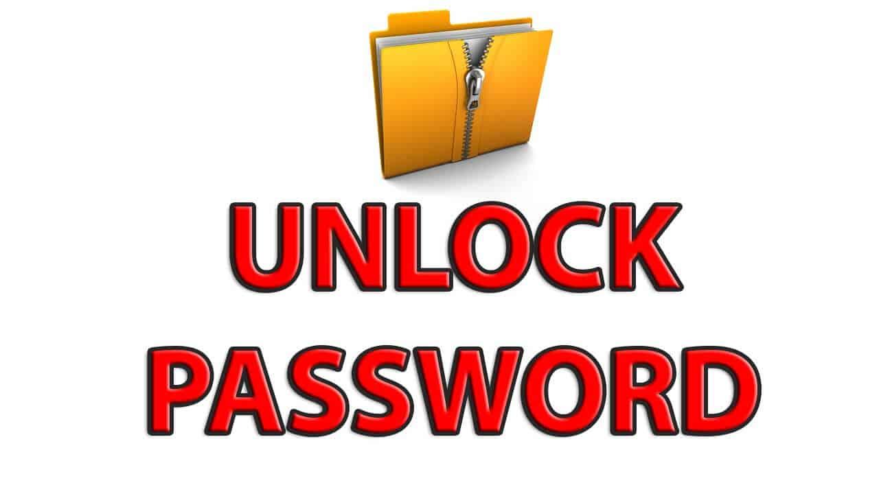 hack zip password protected file