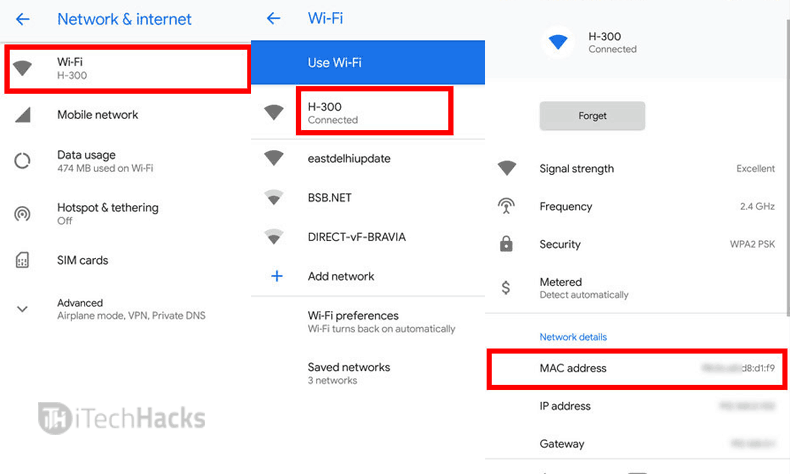 Change MAC Address Of Your Android Without ROOTING
