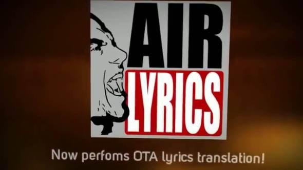 Airlyrics  - Airlyrics - #5 Apps To Play Music With Lyrics