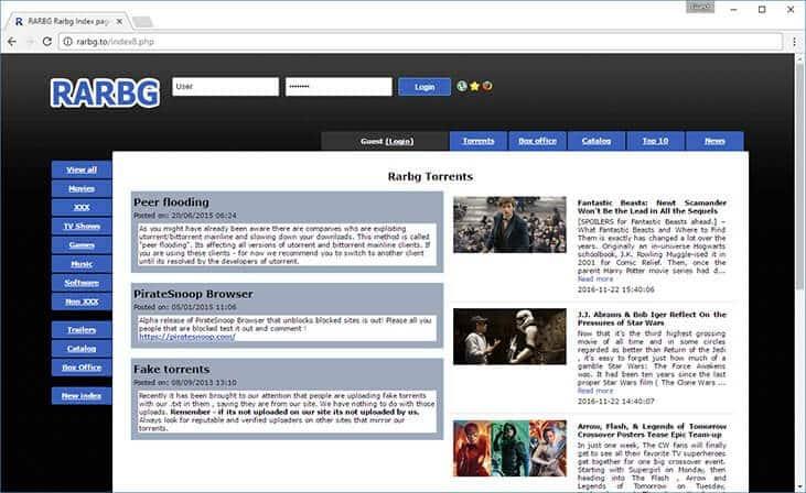 100 best torrent websites