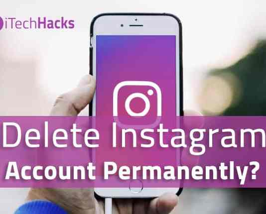 How to Delete Instagram Account Permanently or Temporarily?