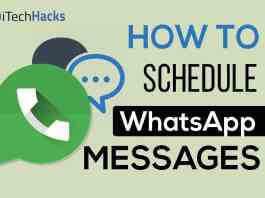 How to Schedule WhatsApp Messages on Android Smartphone