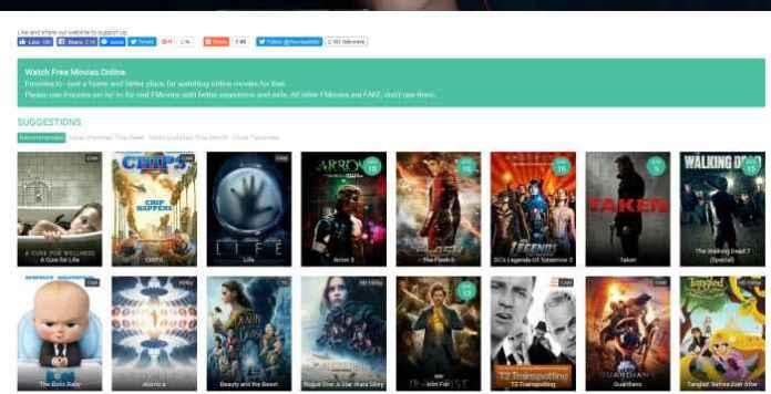 Best Free Movie Websites of 2017