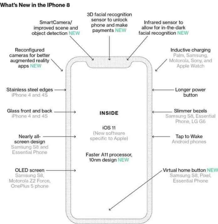 iPhone 8 Display: