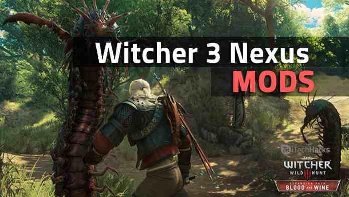 Best Witcher 3 Nexus Mods