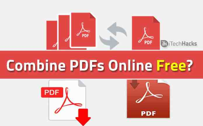 How to Combine PDFs Online Free?