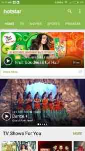 Download Hotstar Videos from Hotstar App on Android