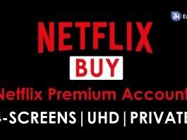 Buy Netflix Premium Accounts at Rs. 150