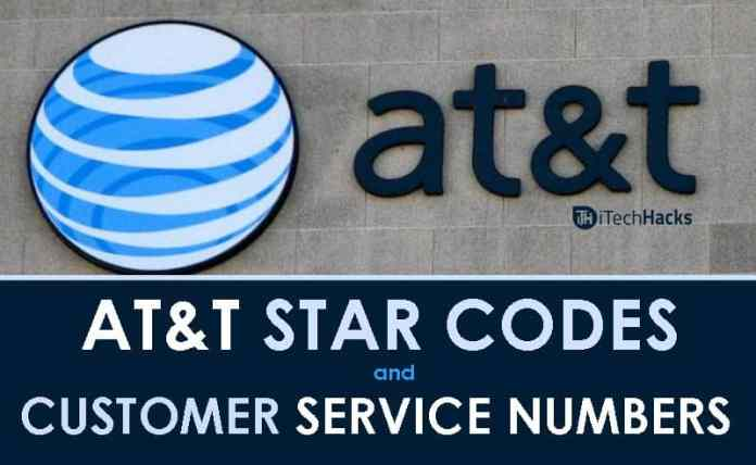 "AT&T Star Codes and Customer Service Phone Number  - att customer care numbers 2018 - AT&T Star Codes and Customer Service Support Numbers (""500+"")"