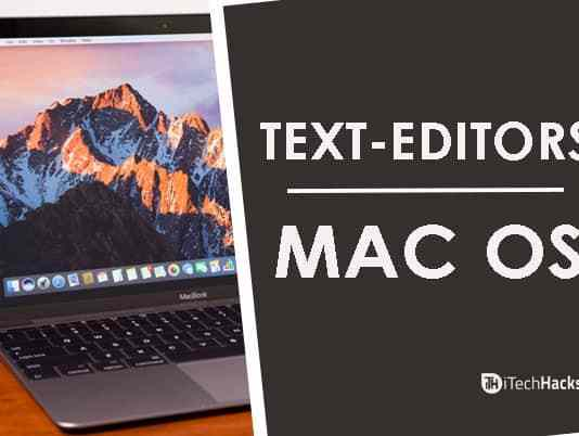Top 10 Best Text Editors For Mac OS (Latest)