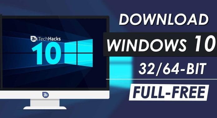 download win 10 free 32 bit