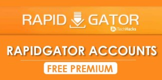 Free Premium Rapidgator Accounts & Passwords 2019 - Working