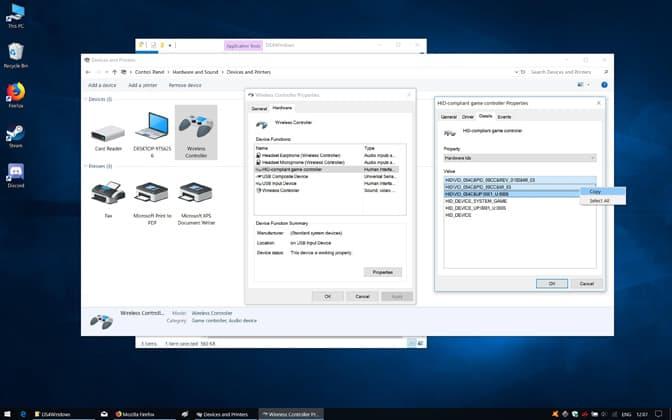 DualShock 4 Denetleyici Kayıt Girişini Düzenleyin.