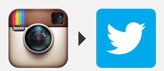 Automatically post Instagram photos as Twitter photos