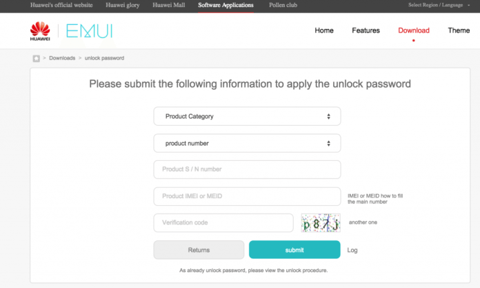 Unlock Huawei Nexus 6P Bootloader