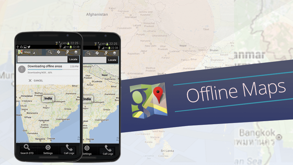 How to Download and Use Google Maps Offline - Download Google Maps For Offline Use on