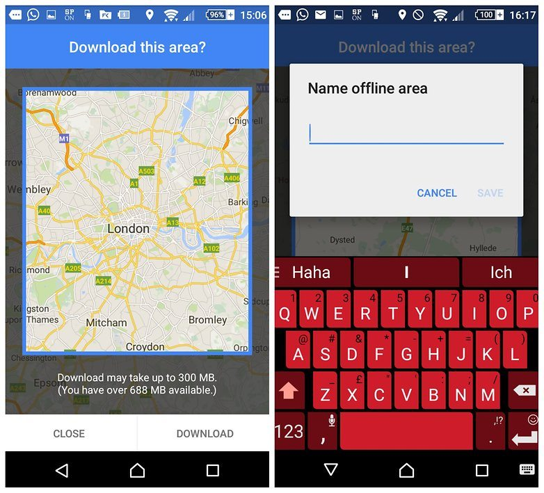 How to Download and Use Google Maps Offline - Google Map Offline Android Download on google sync android, google chrome search, google docs offline android, city maps 2go android, google maps android icon,