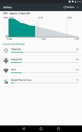 Fix Nexus 7 Battery Drain on Marshmallow