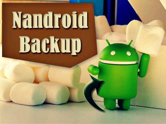 Make Nandroid Backup of Android Phone