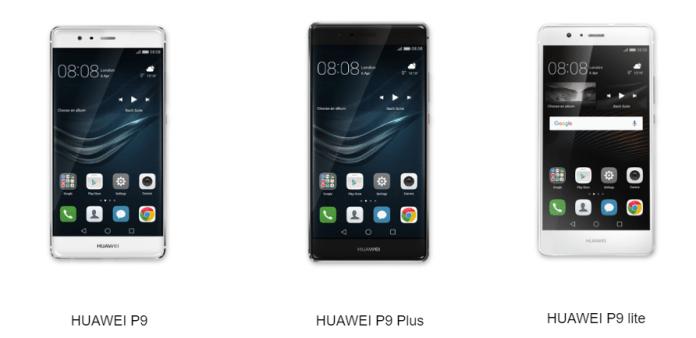 Recovery Menu on Huawei P9
