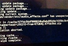 Fix Error Status 7 Installation Aborted While Flashing ROM