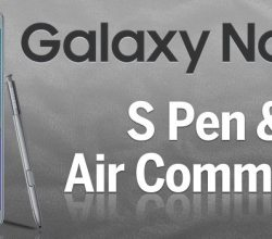Air Command not showing when S Pen pulled out