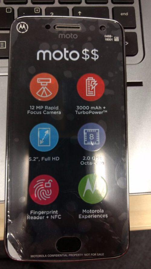Moto g5 plus specs