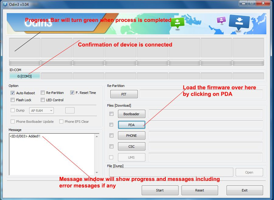 Fix Firmware upgrade encountered an issue Select recovery