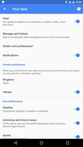 Disable Google Assistant